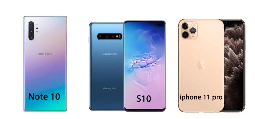 مقایسه سه مدل گوشی دارای سه دوربین