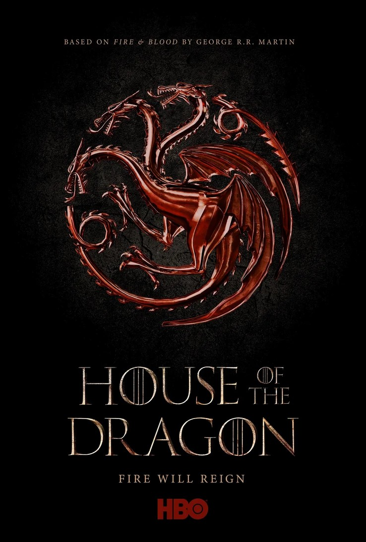 House of the Dragons-Game of Thrones poster