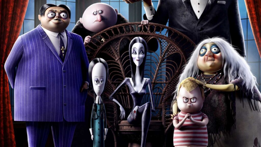 انیمیشن The Addams Family