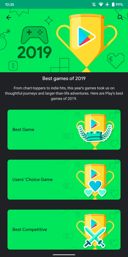 google-play-best-2019-games