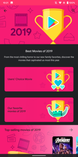 google-play-best-2019-movies